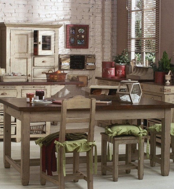 Country Corner eclectic-dining-tables