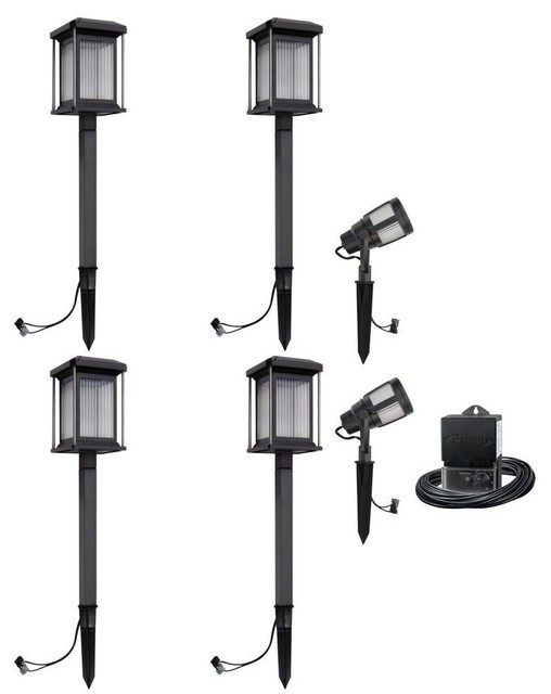 Malibu Path Landscape Lights Prominence Collection Low Voltage LED Kit
