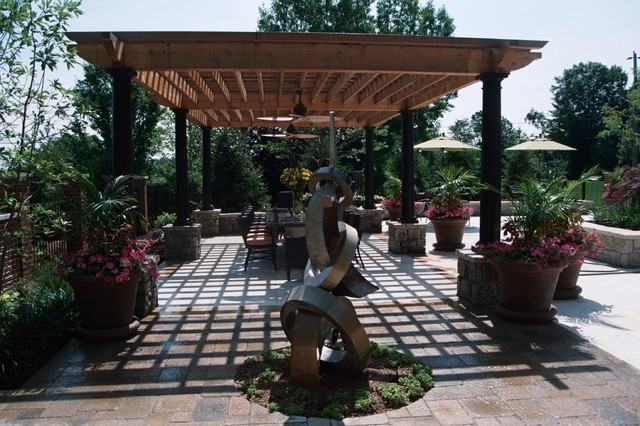 Pergola traditional-patio