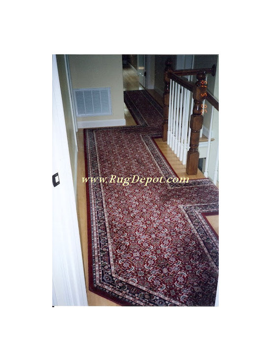 Custom Stair Runners - Dynamic Brilliant Collection 72240-330