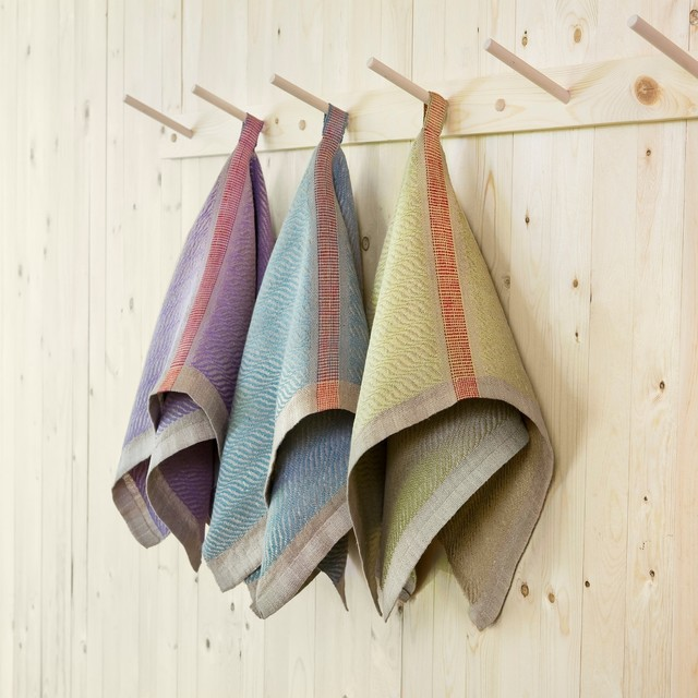 Vava! Veve! Handwoven Belgian Linen Kitchen and Bath Hand Towels bath-products