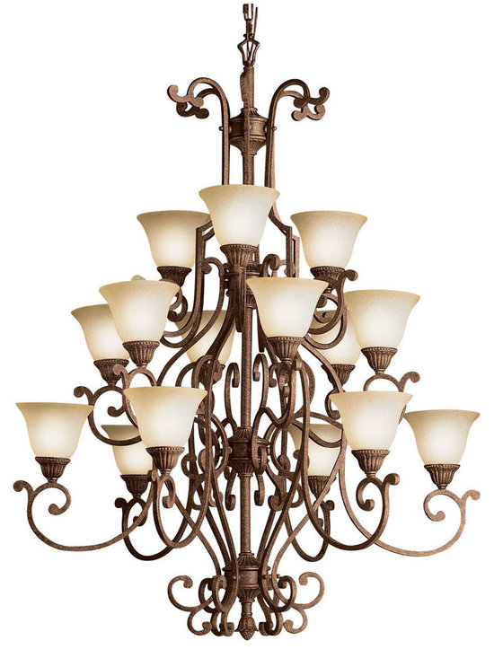 Grandiose Chandeliers - Larissa - Chandelier 15Lt
