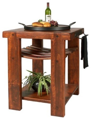 If furniture could talk this Wine2Night Cross Creek Kitchen Island by 2-Day Desi contemporary kitchen islands and kitchen carts