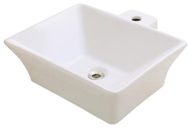 Vessel Porcelain Sink - Traditional - Bathroom Sinks - by ...