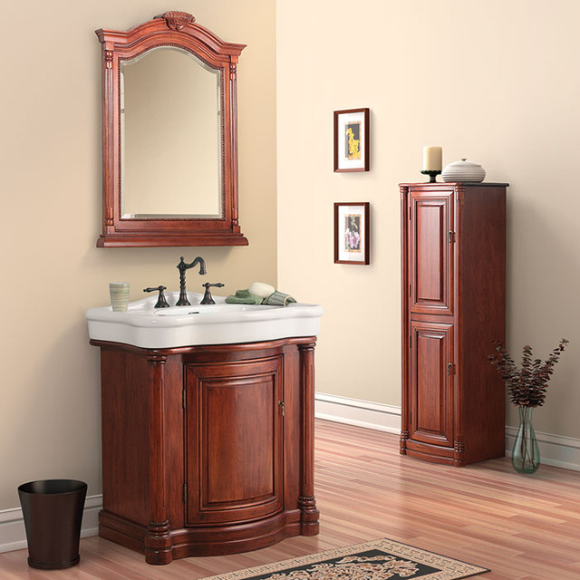 Wingate Bath Vanity Collection by Foremost traditional-bathroom-vanities-and-sink-consoles