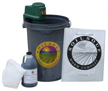 Compost Tea Homebrewing Kit - 6.5 Gallons modern-trash-cans