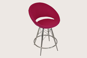 Modern Crescent MW Bar/Counter Stool By SohoConcept contemporary-bar-stools-and-counter-stools