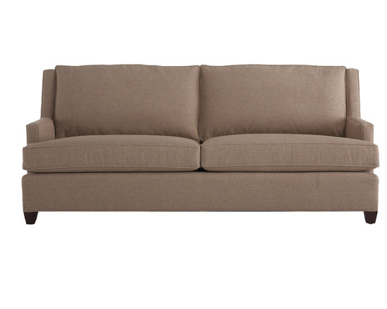 Norton Sofa - Our Norton Sofa is a wonderful balance of style and livability that offers simple lines to anchor any room - whether classic, modern or a more eclectic mix. It is sleek, simple and extremely comfortable, thanks to its clean two-over-two styling and quality construction. Modern track arms and a winged back set this sofa apart from its competition.