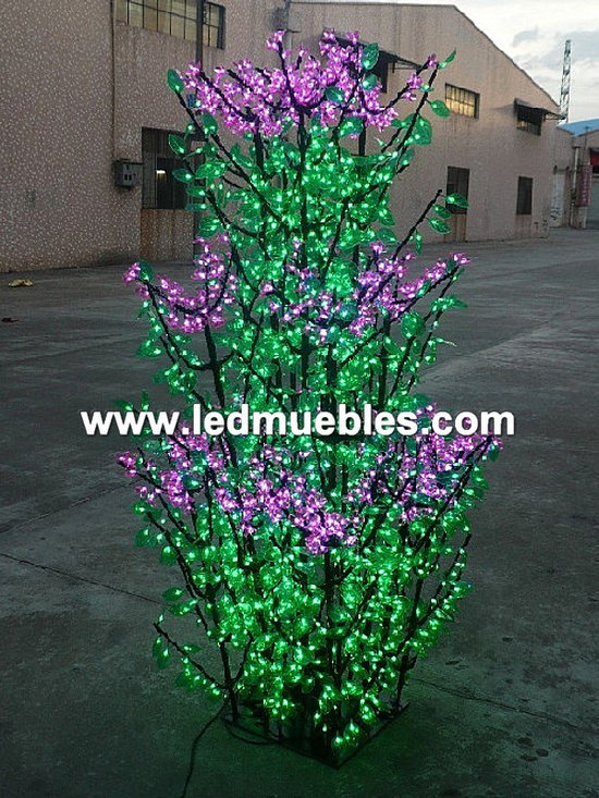 Led Peach Blossom Tree Light Landscape - WeiMing Electronic Co., Ltd se especializa en el desarrollo de la fabricación y la comercialización de LED Disco Dance Floor, iluminación LED bola impermeable, disco Led muebles, llevó la barra, silla llevada, cubo de LED, LED de mesa, sofá del LED, Banqueta Taburete, cubo de hielo del LED, Lounge Muebles Led, Led Tiesto, Led árbol de navidad día Etc