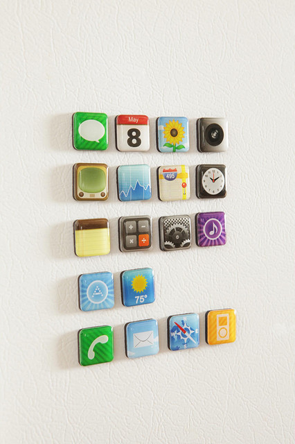 App Magnets  accessories and decor