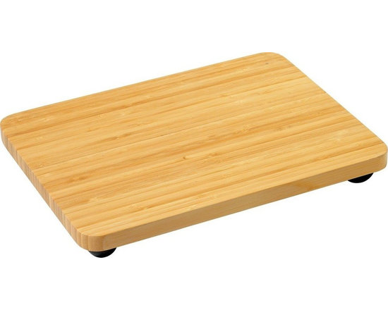 "Alessi - Alessi ""Programma 8"" Chopping Board - Let's talk chop. The only feet you want on your countertop are the ones on the bottom of this supremely steady chopping board. Now, there's no sliding when you're slicing."