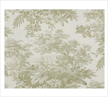 Matine Toile Sham, Standard, Sprout traditional-shams