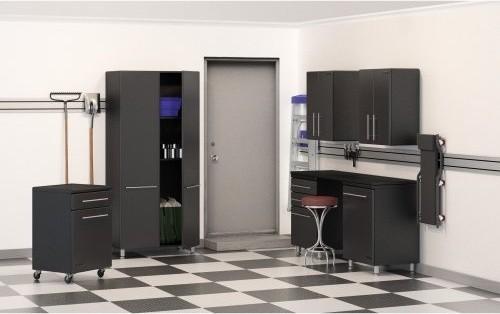Ulti-MATE 7 pc. Garage Storage System contemporary-storage-cabinets
