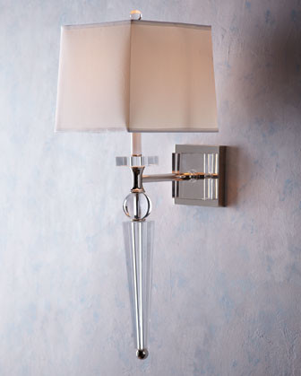 Crystal Spear Sconce Eclectic Wall Sconces By Horchow