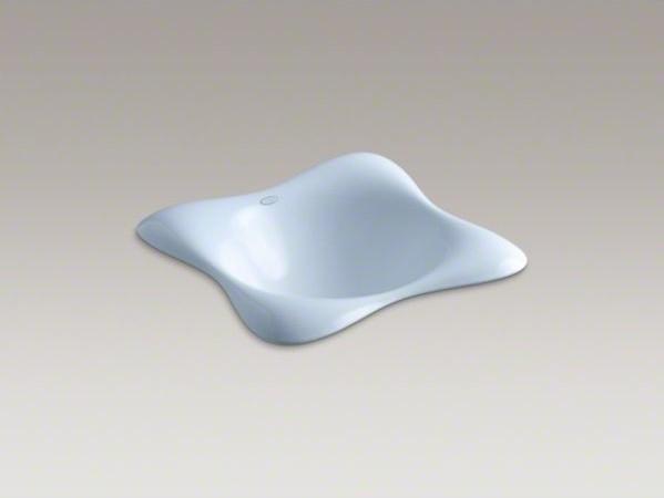 KOHLER Dolce Vita(R) drop-in bathroom sink contemporary-bathroom-sinks