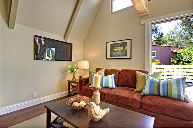 Laguna Beach beach-style-living-room