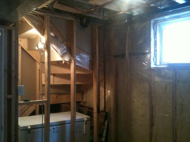 Renovations modern-basement