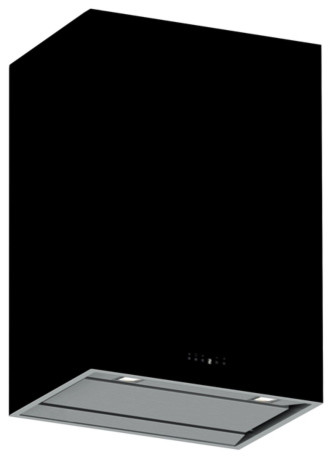 Futuro Futuro 36-inch Lombardy Black Wall Range Hood modern-major-kitchen-appliances