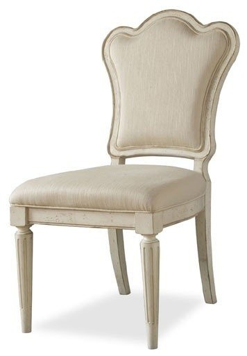 A.R.T. Furniture Provenance Upholstered Back Side Chair traditional-accent-chairs