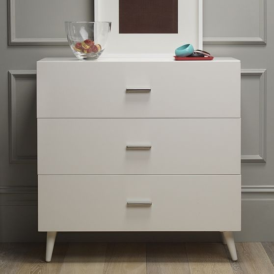 New Adams 3-Drawer Dresser modern dressers chests and bedroom armoires