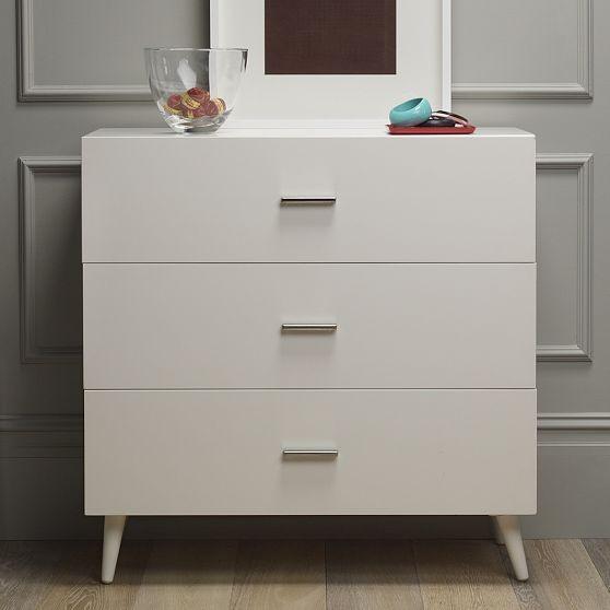 New Adams 3-Drawer Dresser modern