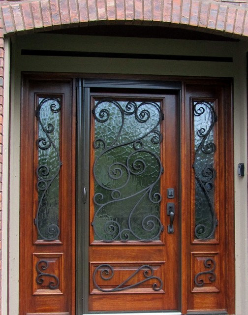 Custom entry door front doors cleveland by for Unique front entry doors