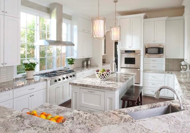 Alaska White Granite : Alaska white granite countertop
