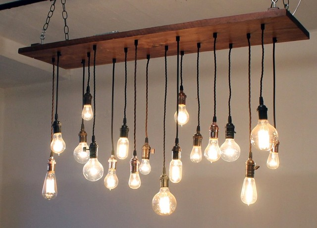 Rustic chandeliers lighting : Reclaimed wood chandelier rustic chandeliers