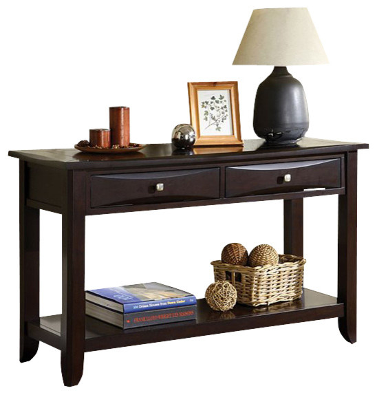 Baldwin Sofa Table By Furniture Of America Contemporary Console Tables By Madison Seating