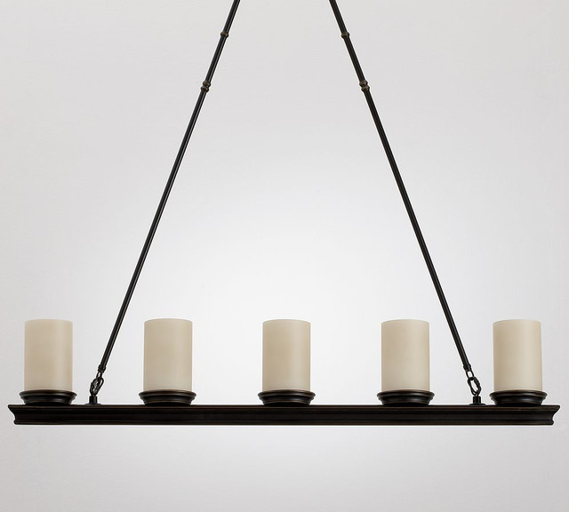 Veranda Linear Chandelier traditional-chandeliers