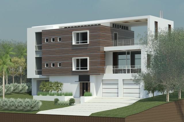Villano Modern contemporary-rendering