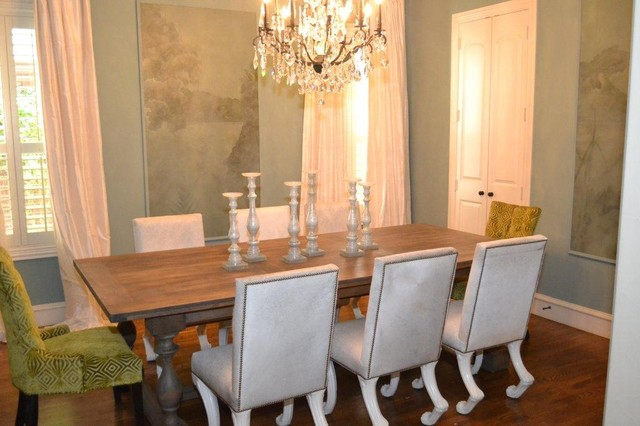 Rustic Luxe Dining Room Eclectic Dining Room Dallas
