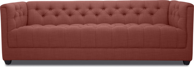 Grand Red Premium 3 Seat Sofa modern sofas
