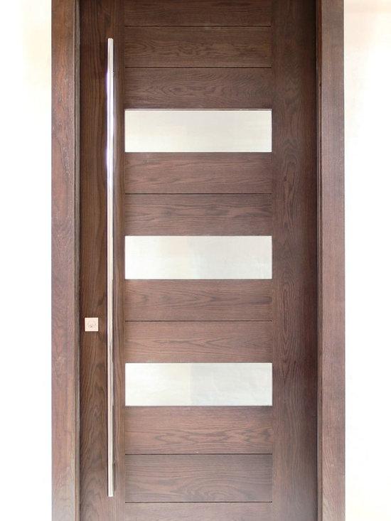 Modern Doors - River City Woodworks