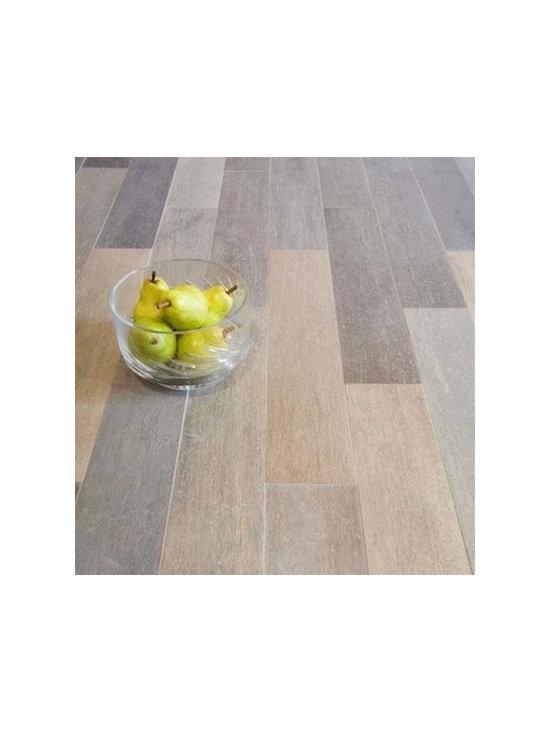 """Vintage Wood Planks- Porcelain Tile 5""""x24"""" -"""