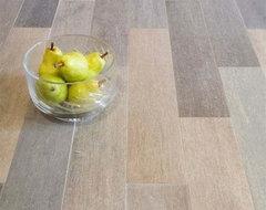 """Vintage Wood Planks- Porcelain Tile 5""""x24"""" contemporary-floor-tiles"""