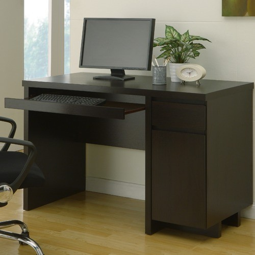 Chilton Basic Office Desk with Drawer modern-home-office-accessories