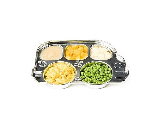 Din Din Smart Stainless Divided Platter -