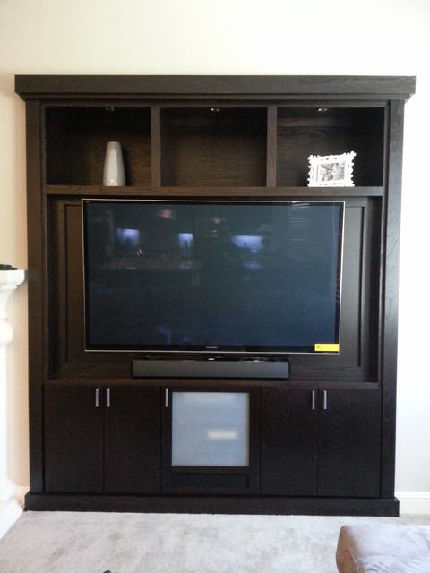 Entertainment Centers Built-in (See also Media Niches) - Modern - orange county - by CustomBuilt ...