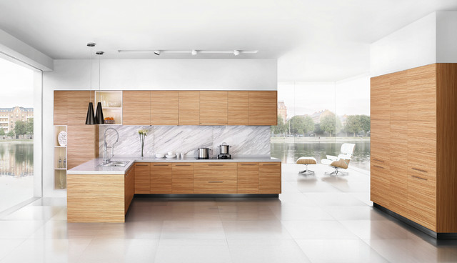 Melamine moden kitchen cabinet design contemporary-kitchen-cabinets
