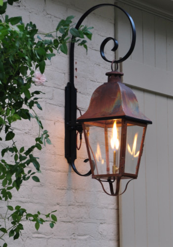 Custom Exterior Wall Lights : LaCaze Collection: Rutledge Lantern: Handcrafted copper lanterns, custom outdoor - Outdoor Wall ...