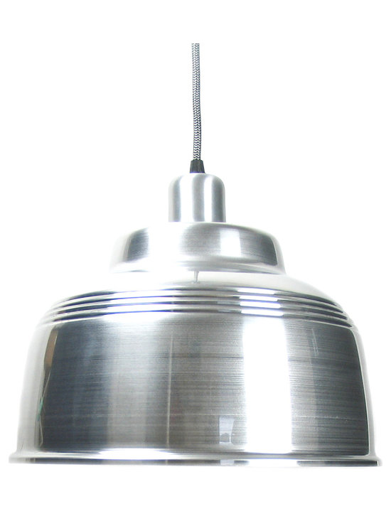 Cafe Lamp - Silver -