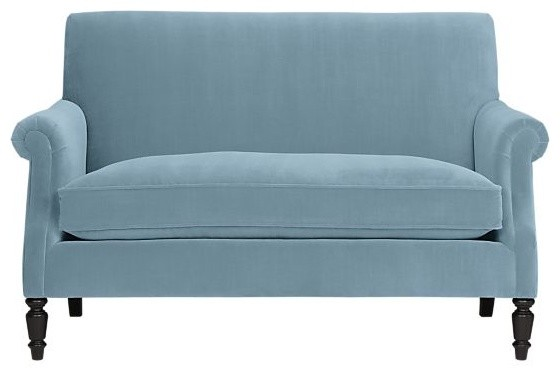 Suffolk Settee - traditional - love seats - by Crate&Barrel