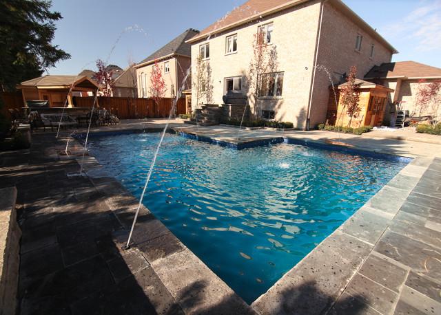 L Shaped Pool