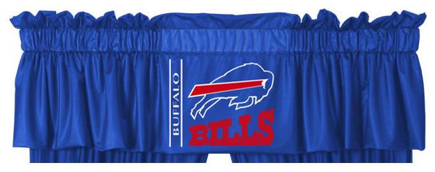 Nfl Buffalo Bills Football Logo Locker Room Valance