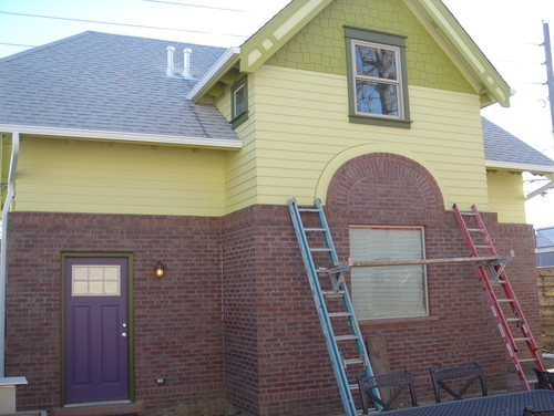 Exterior paint change light color to for Change the exterior of your house