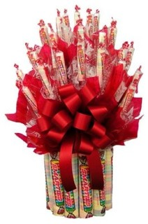 Smarties™ Candy Bouquet - Modern - Baskets - by Hayneedle