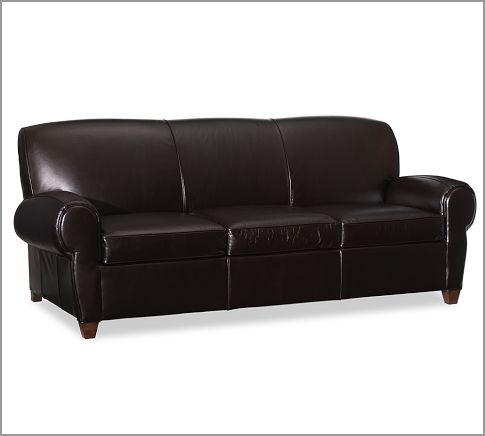 Manhattan Leather Sleeper Sofa modern-sofa-beds