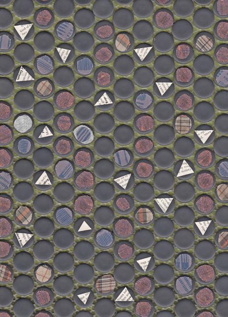 Dot Dot Dot Floor Mat, Small eclectic-rugs