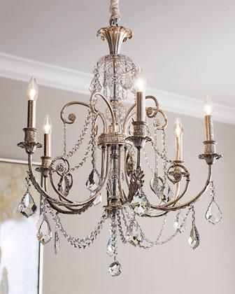 Delphine Chandelier traditional-chandeliers